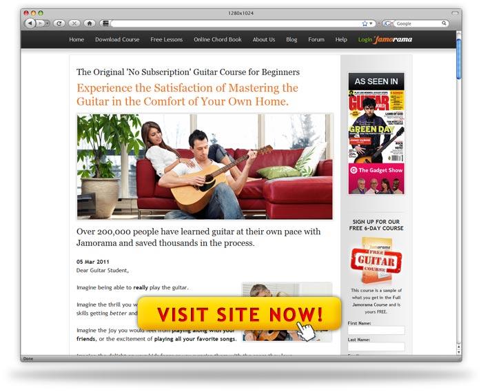 Teach Yourself Guitar by Jamorama