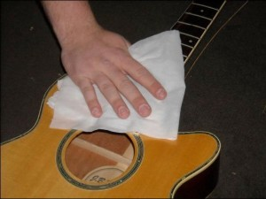 how to take care of the guitar